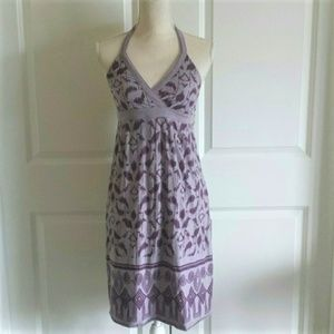 Athleta Huckleberry Purple halter dress size XS